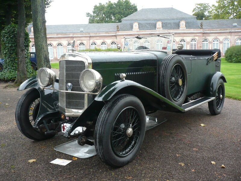 SUNBEAM 30HP 90 Open Sports Tourer 1927 Schwetzingen (1)