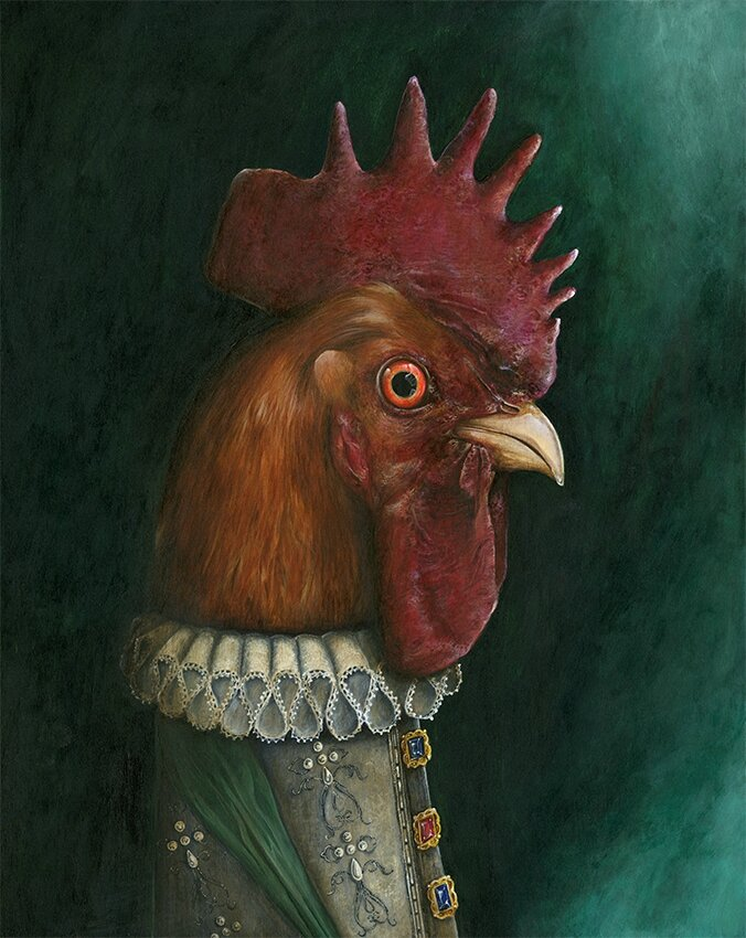 King coq Henri Coquatre is finish