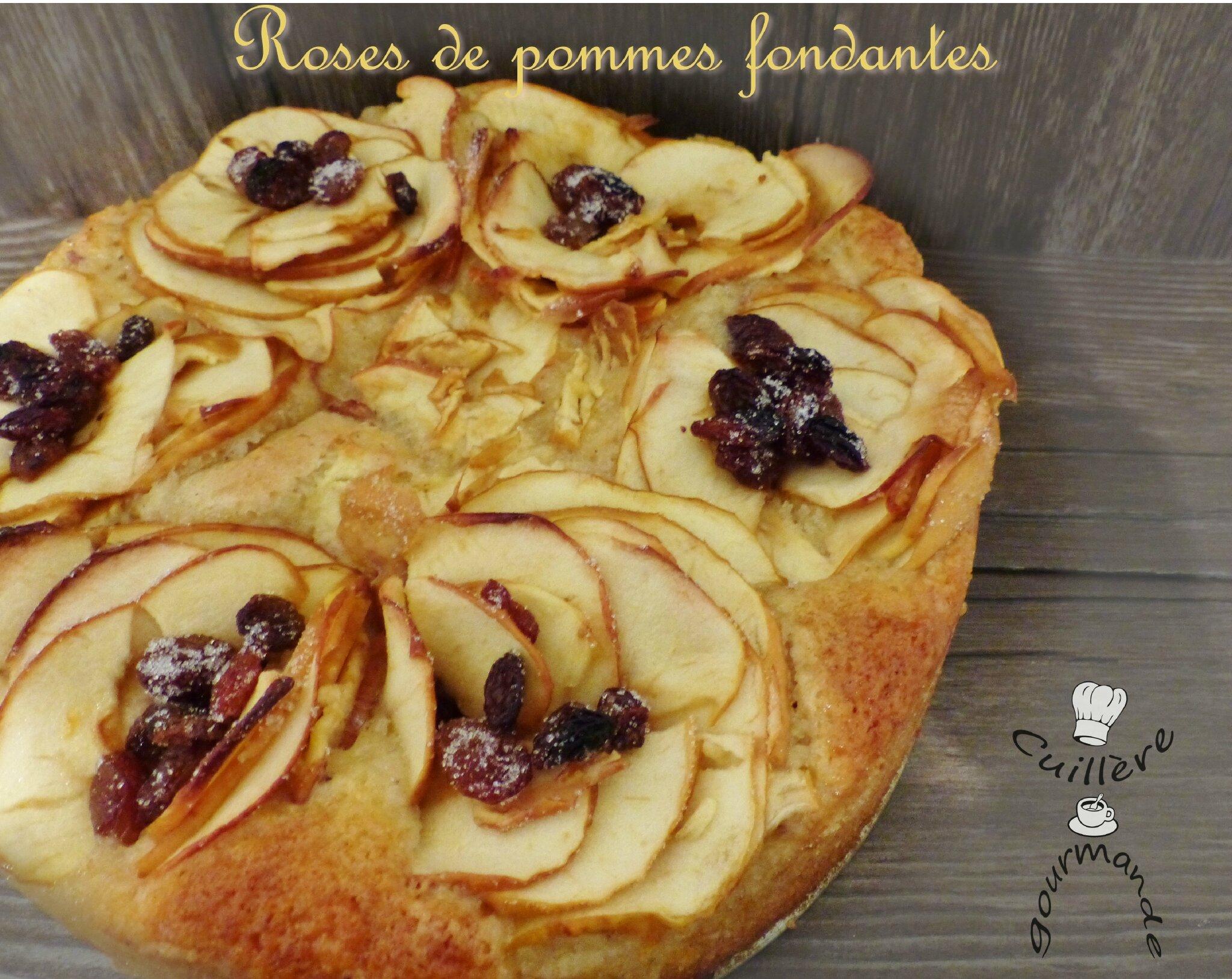 gâteau moelleux fleur de pommes