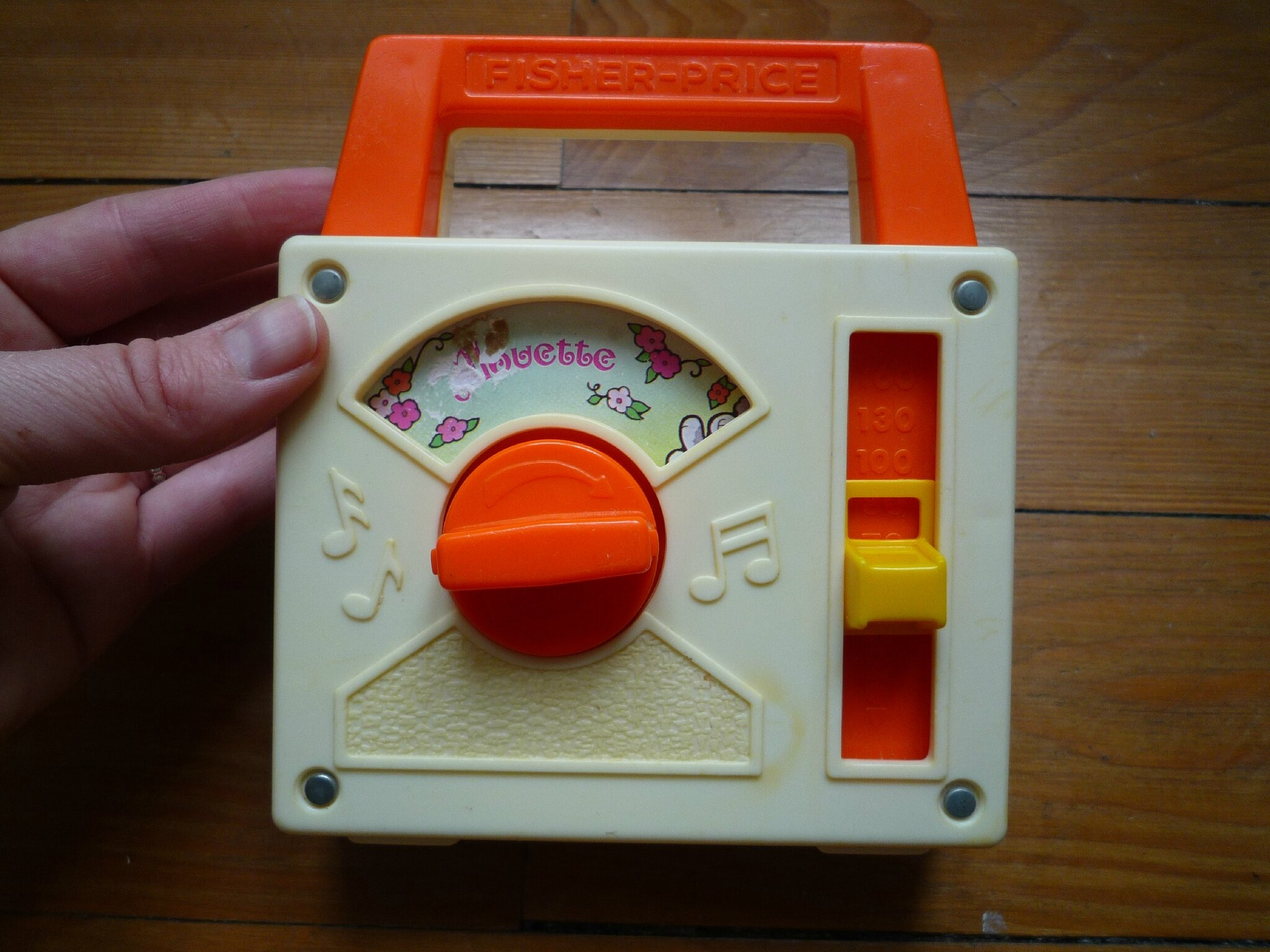 Music box Alouette Fisher Price