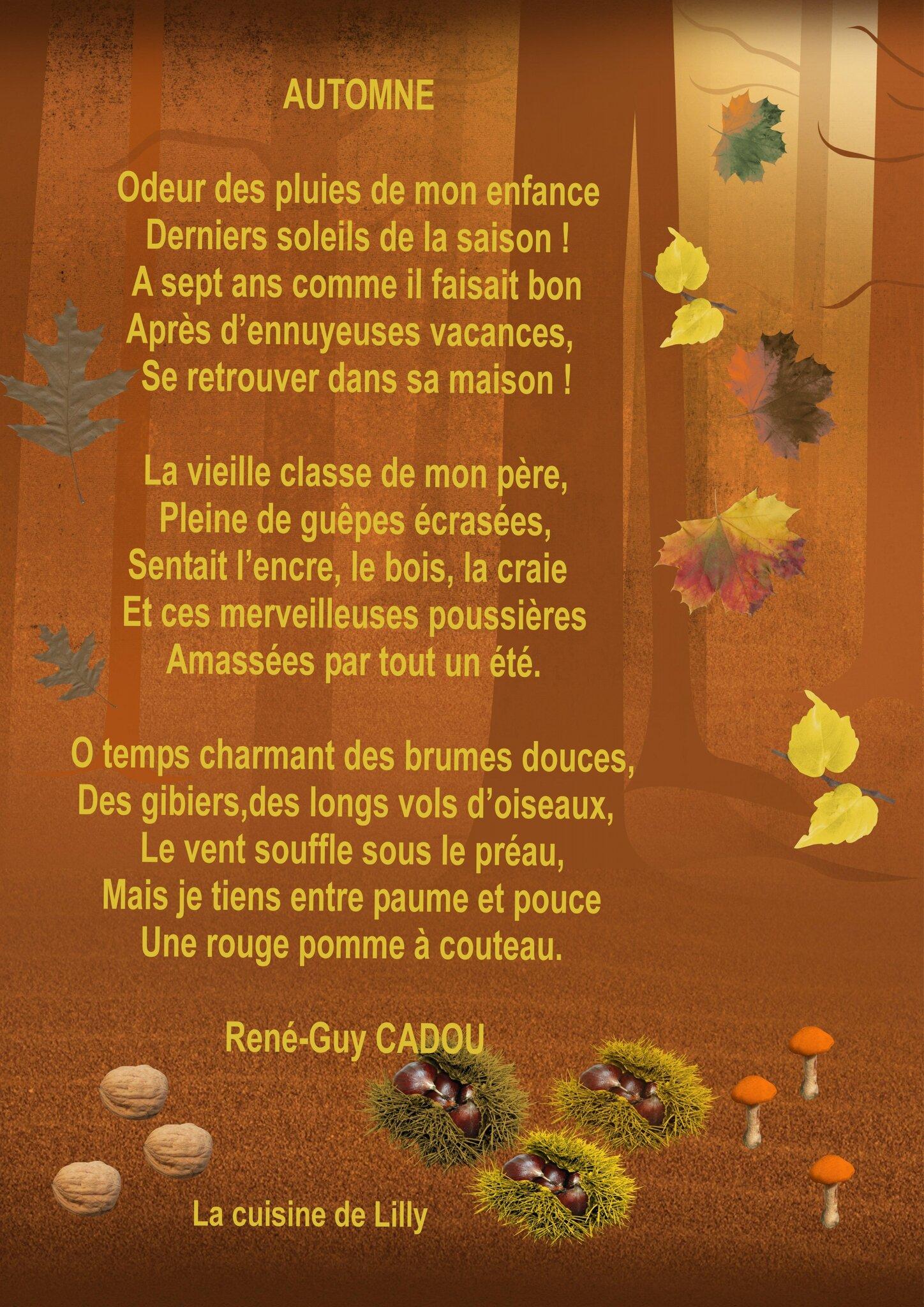 automne la cuisine de lilly