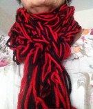 echarpe rouge 1