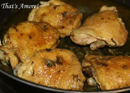 Poulet marocain
