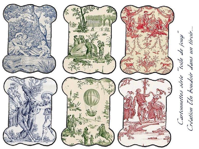 gratuit et imprimer cartonnettes pour fils broderie motif toile de jouy toile de jouy. Black Bedroom Furniture Sets. Home Design Ideas