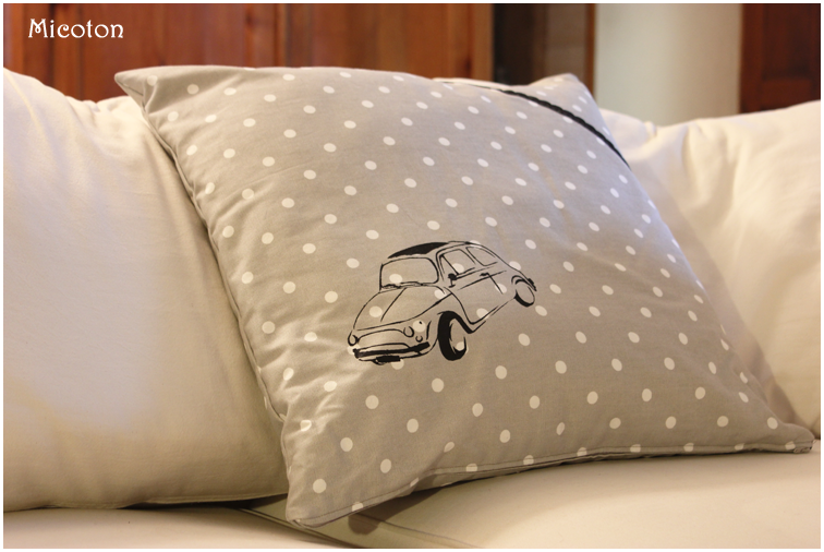 coussin fiat 500 1