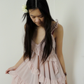 Pink frills: spring is here!