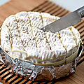 Camembert rti au miel et aux noix