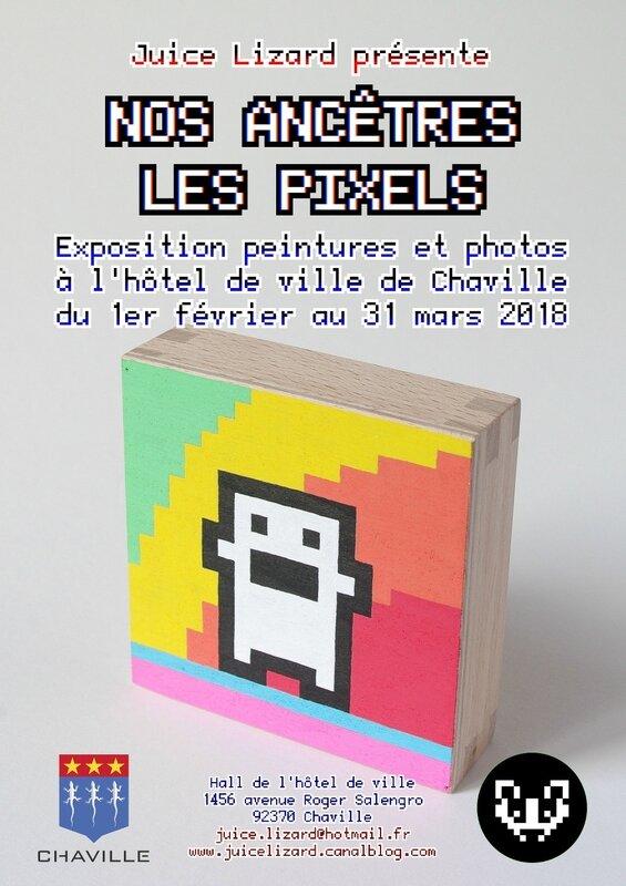 Juice Lizard _Nos ancêtres les pixels_
