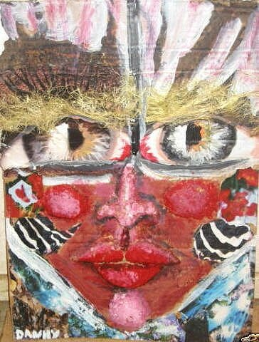 DANHY JACOBS Masque 57 x 42