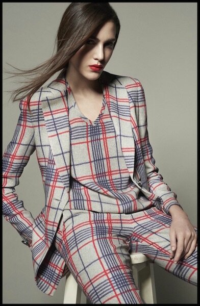 giorgio armani collection spring tartan capsule 6