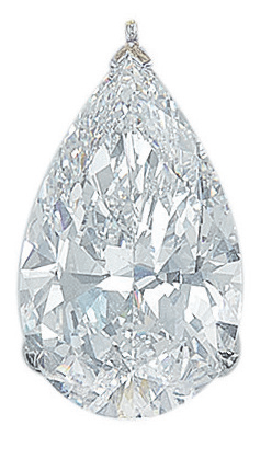 A diamond pendant, by Graff