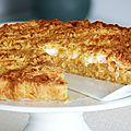 Szarlotka - gâteau polonais aux pommes