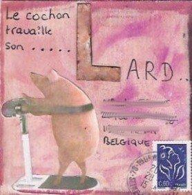 L de Lard pour Piggy (Belgique)
