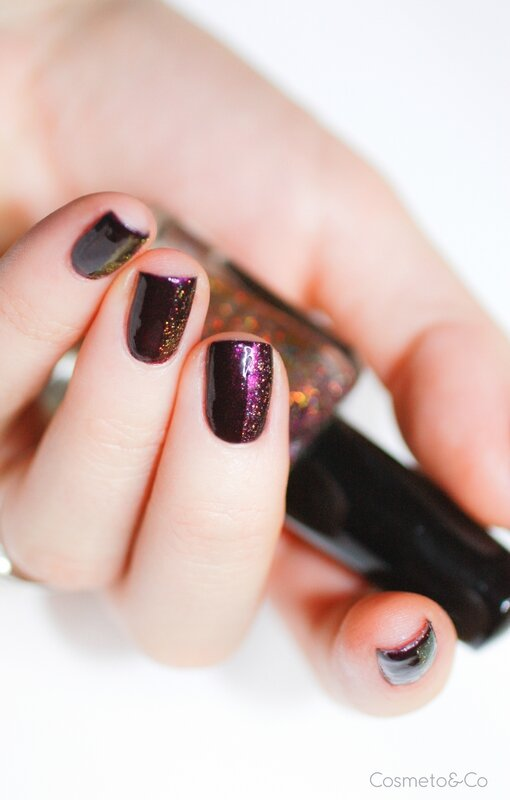 nail art FUN Lacquer Celebrate H Bourjois Prune Stellaire-7