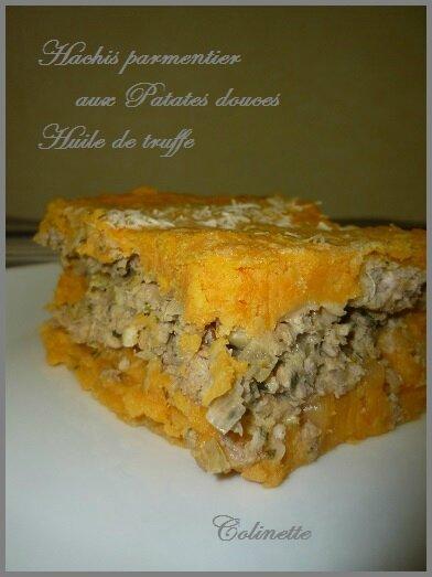 hachis parmentier huile de truffe et patates douces 02