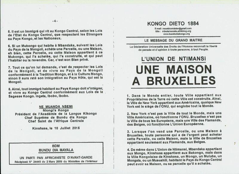 UNE MAISON A BRUXELLES a