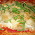 Pizza au 4 fromages