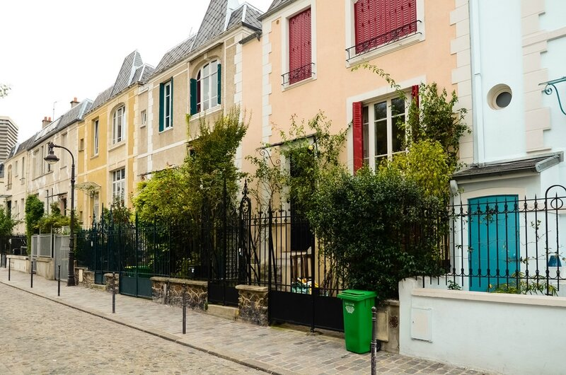 RUE DIEULAFOY photo BY ET SI ON SE PROMENAIT