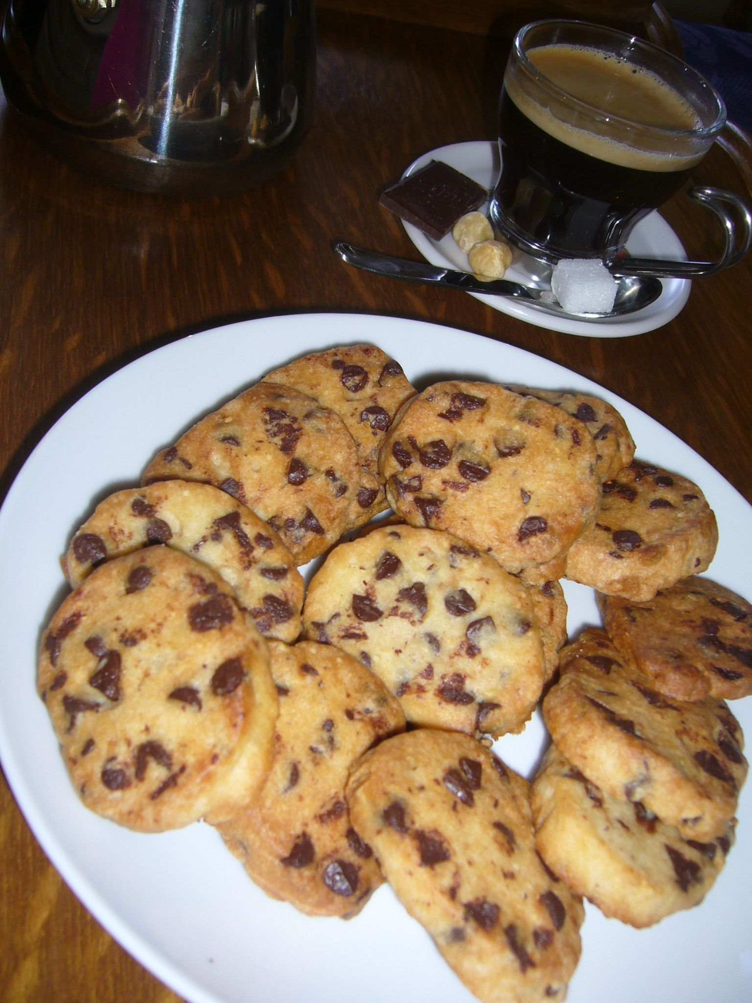 cookies chocolat noisettes teatime gourmand. Black Bedroom Furniture Sets. Home Design Ideas