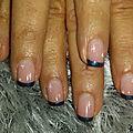 Passion'nail pose d'ongles en gel: bleu nuit étoilé