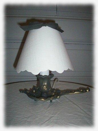 lampe rat cave dorée grise1