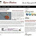 Premier article sur la blogosphère