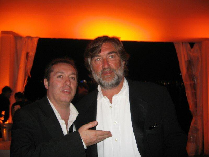 Pierre-Ange Le pogam , l'associé de Luc Besson et Hugo Mayer (Quand j'étais chanteur)