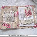 carnet couture Marimerveille pour livre Trésors chinés- intérieur
