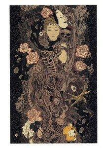 Takato Yamamoto Divertimento Artbook ukiyoe ukiyo-e sm manga 006