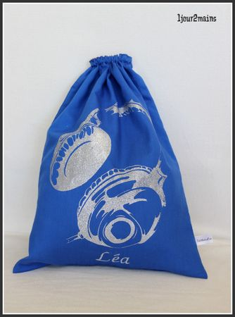 sac audio bleu