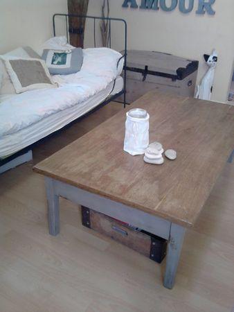 Changement de fonction p ge blanche n 11 smile for Repeindre une table en fer
