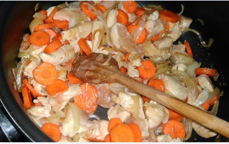 avec les carottes