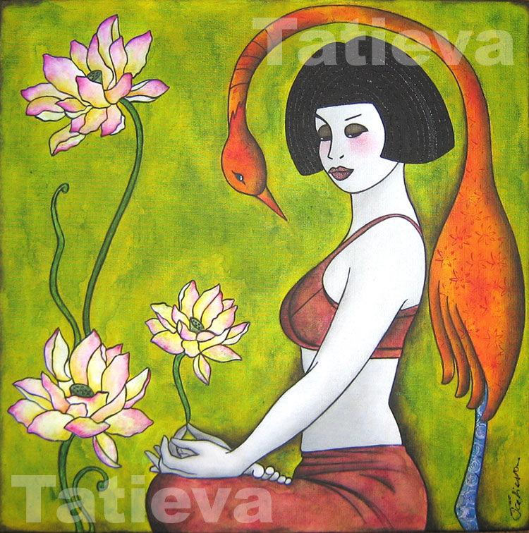 Lotus 1 - Padmâsana posture
