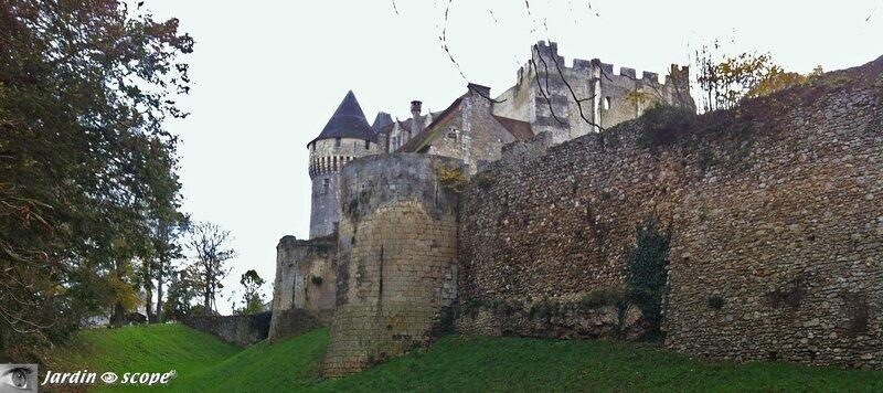 Mur d'enceinte du Château St-Jean de Nogent-le-Rotrou