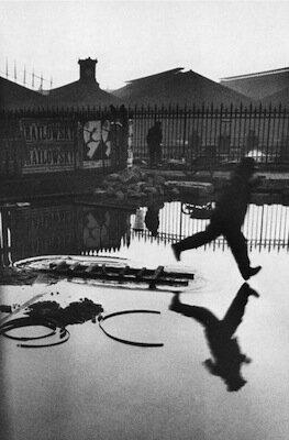 Cartier Bresson Derrière la Gare Saint-Lazare, 1932 et Palerme, 1971