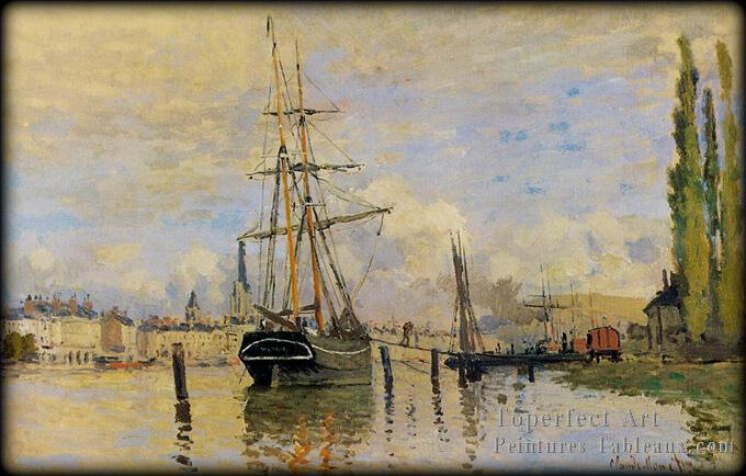 3_la_Seine_At_Rouen_Claude_Monet