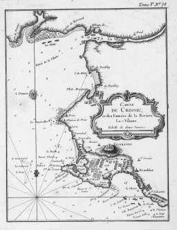 carte maritime Presqu'ile Guerandaise