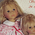 lisa et sophie en rouge et blanc