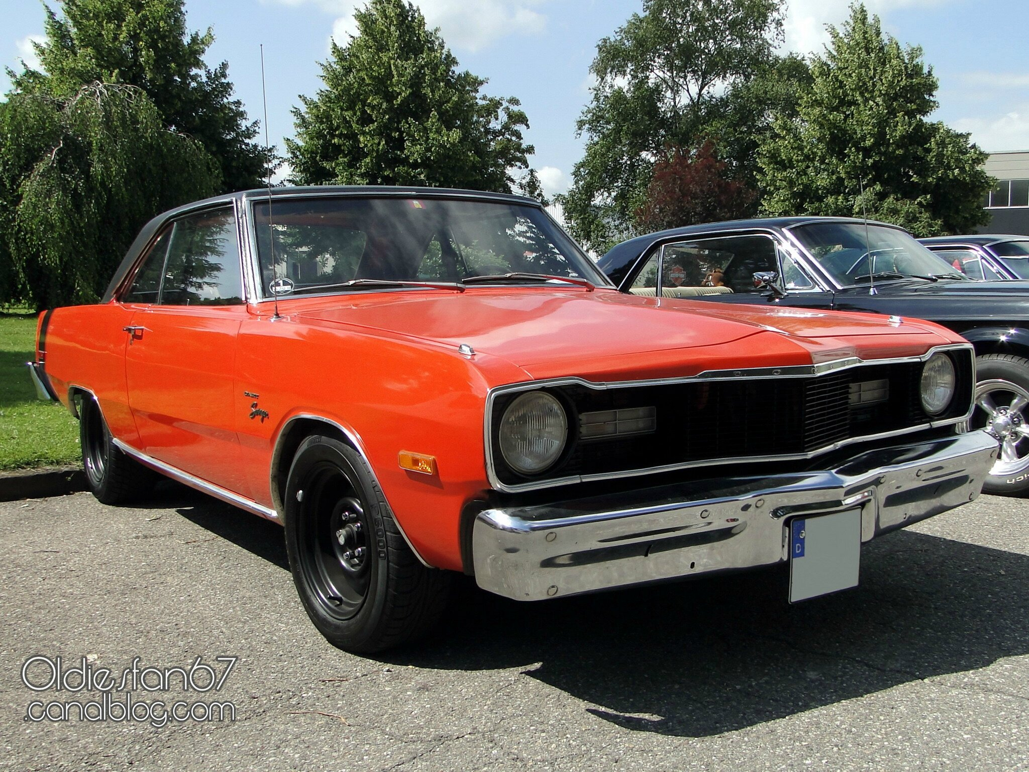 dodge dart swinger hardtop coupe 1975 1976 oldiesfan67. Black Bedroom Furniture Sets. Home Design Ideas