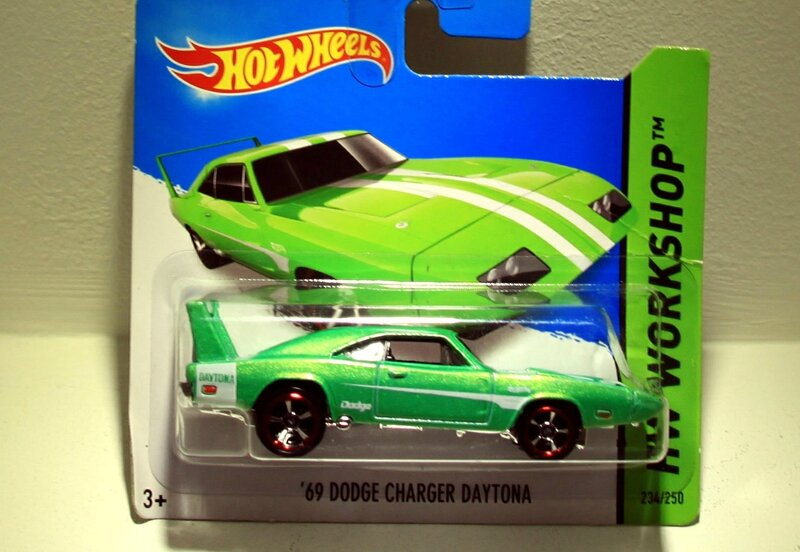 Dodge charger daytona de 1969 (2014)(Hotwheels)