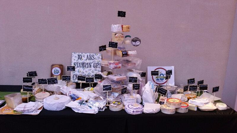 15k Pyramide de fromages
