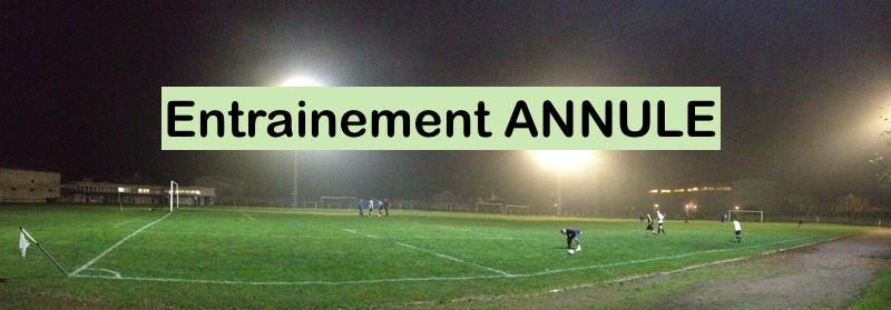 entrainement annule