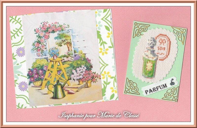 Échange ATC Perso Mai (Parfums) Isaphanie Pour Marie de Clessé 2