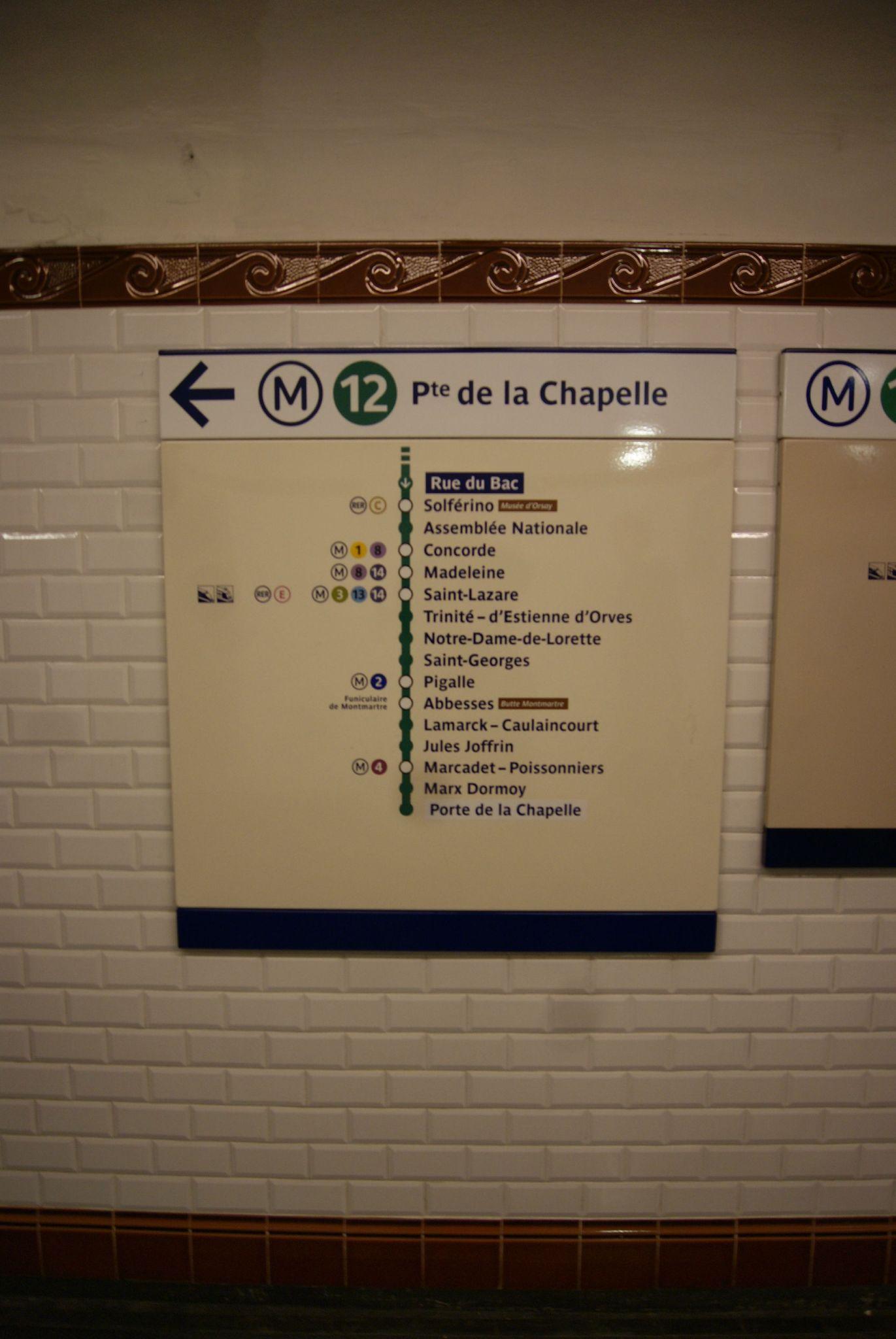 D fi m tro 53 m12 rue du bac le g teau sous la cerise - Le five porte de la chapelle ...