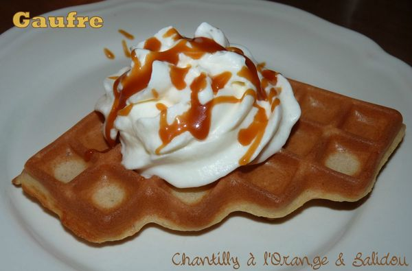 Gaufre chantilly à l'orange et salidou2