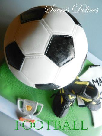 gâteau foot 9