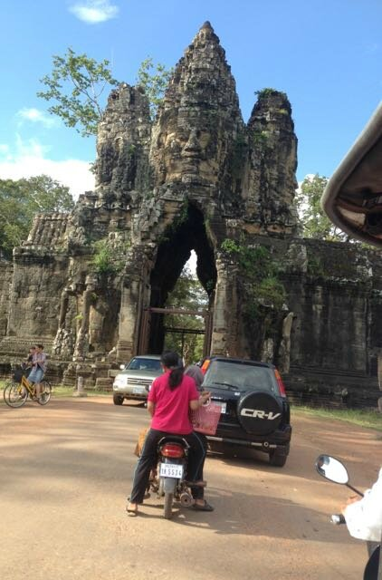 tour porte sud Angkor Tom