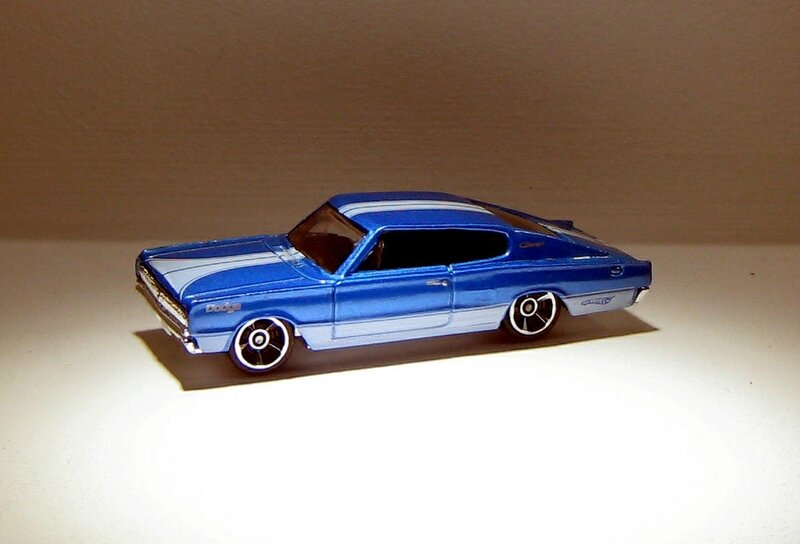 Dodge charger de 1967 (Hotwheels 2010) 01