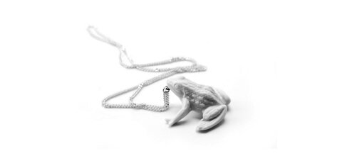 Wonderland-collier-grenouille