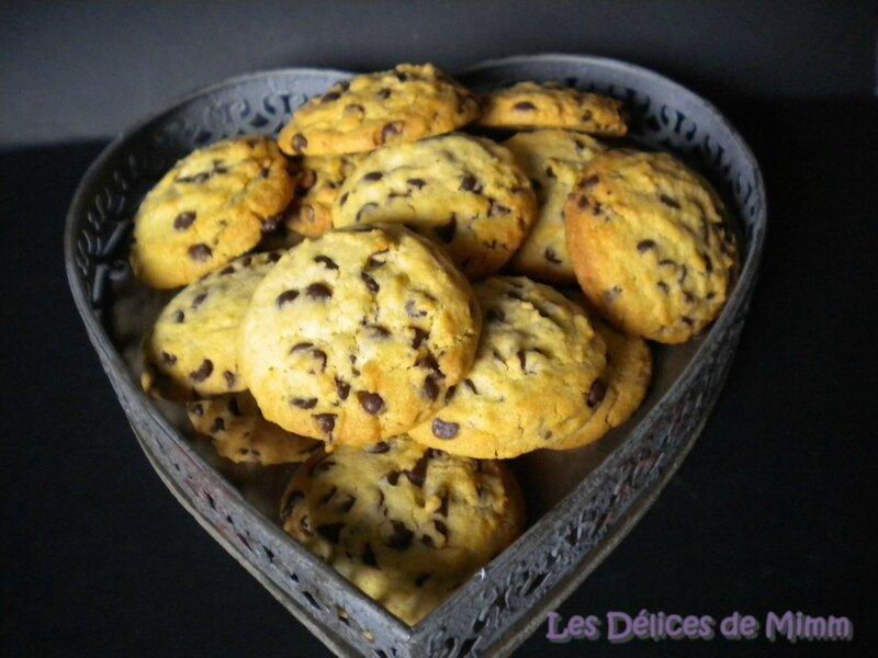 Cookies aux pépites de chocolat de Nigella